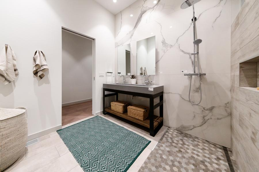 vent covers glacier frost finish on white tile floor minimalist bathroom dwell on design method homes modern prefab home by kulgrilles