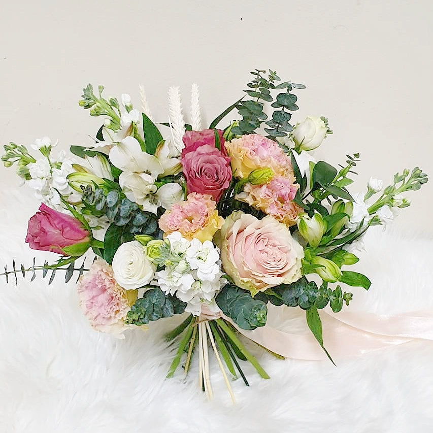 Bridal Hand-tied Bouquet - Happy Florals