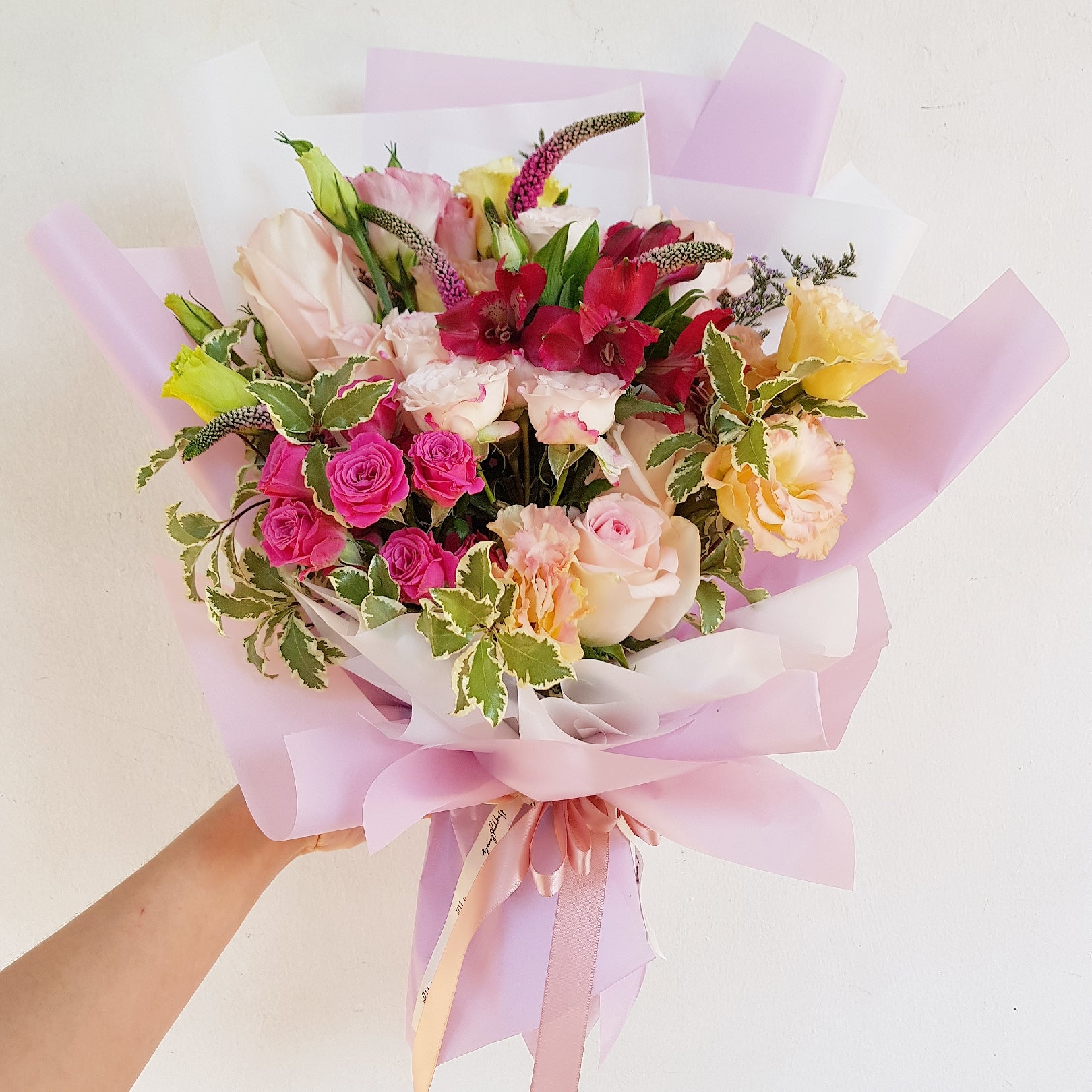 Pretty in Pink Bouquet - Happy Florals