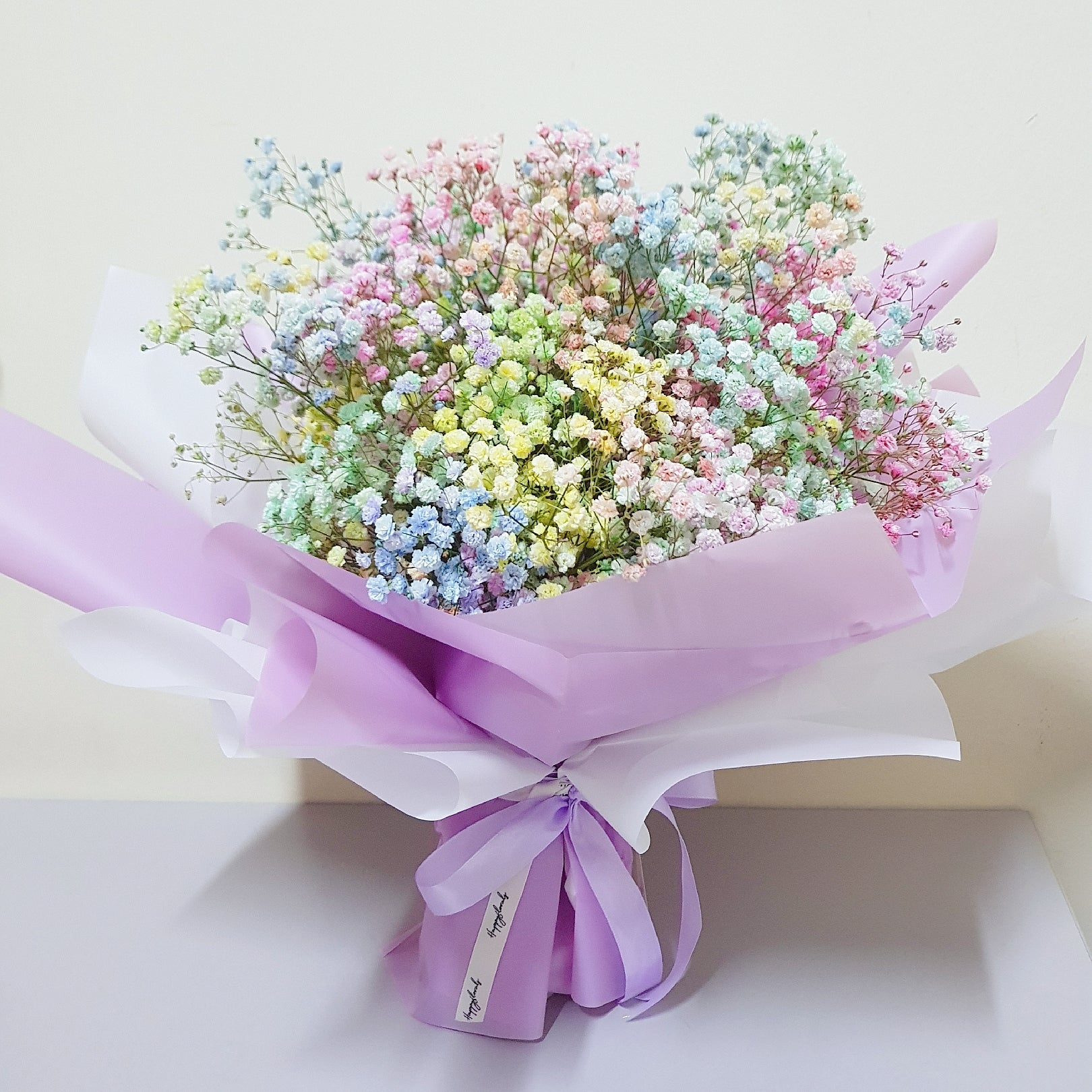 Baby's Breath Bouquet - Happy Florals