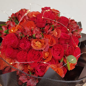 99 Red Roses - Happy Florals