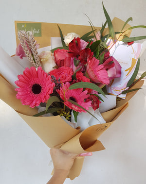 Gerberas Bouquet - Happy Florals