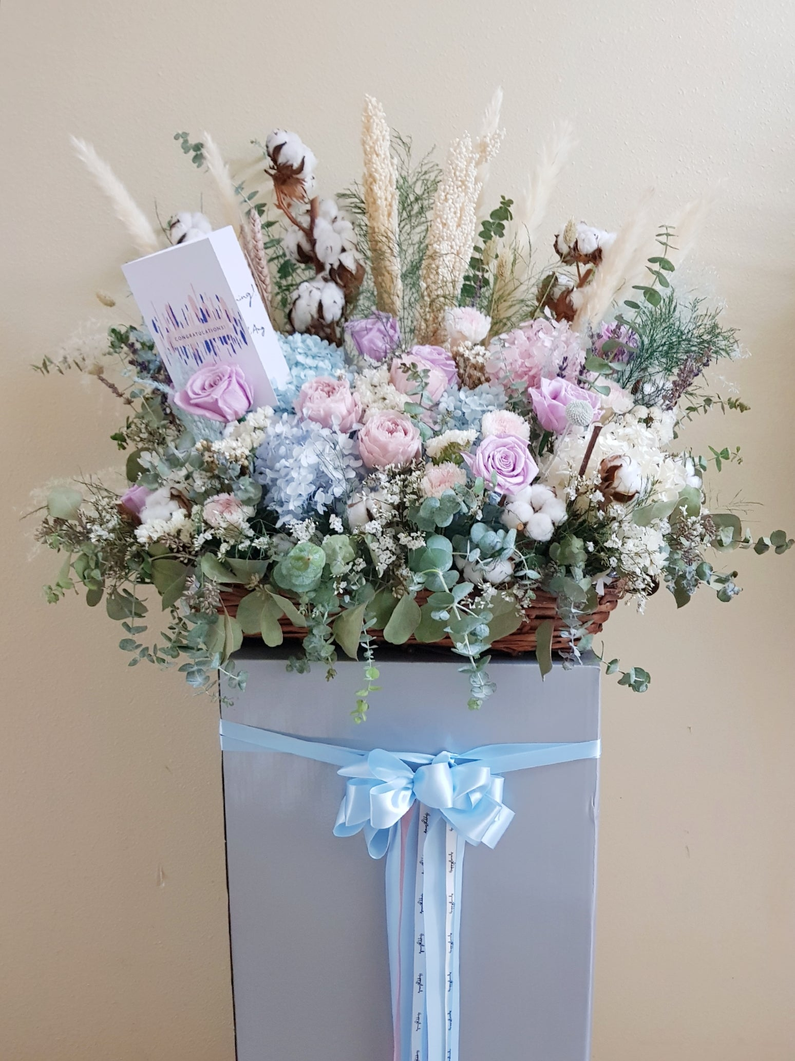 Opening Congratulatory Flower Stand - Happy Florals