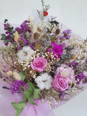 Shades of Purple - Happy Florals