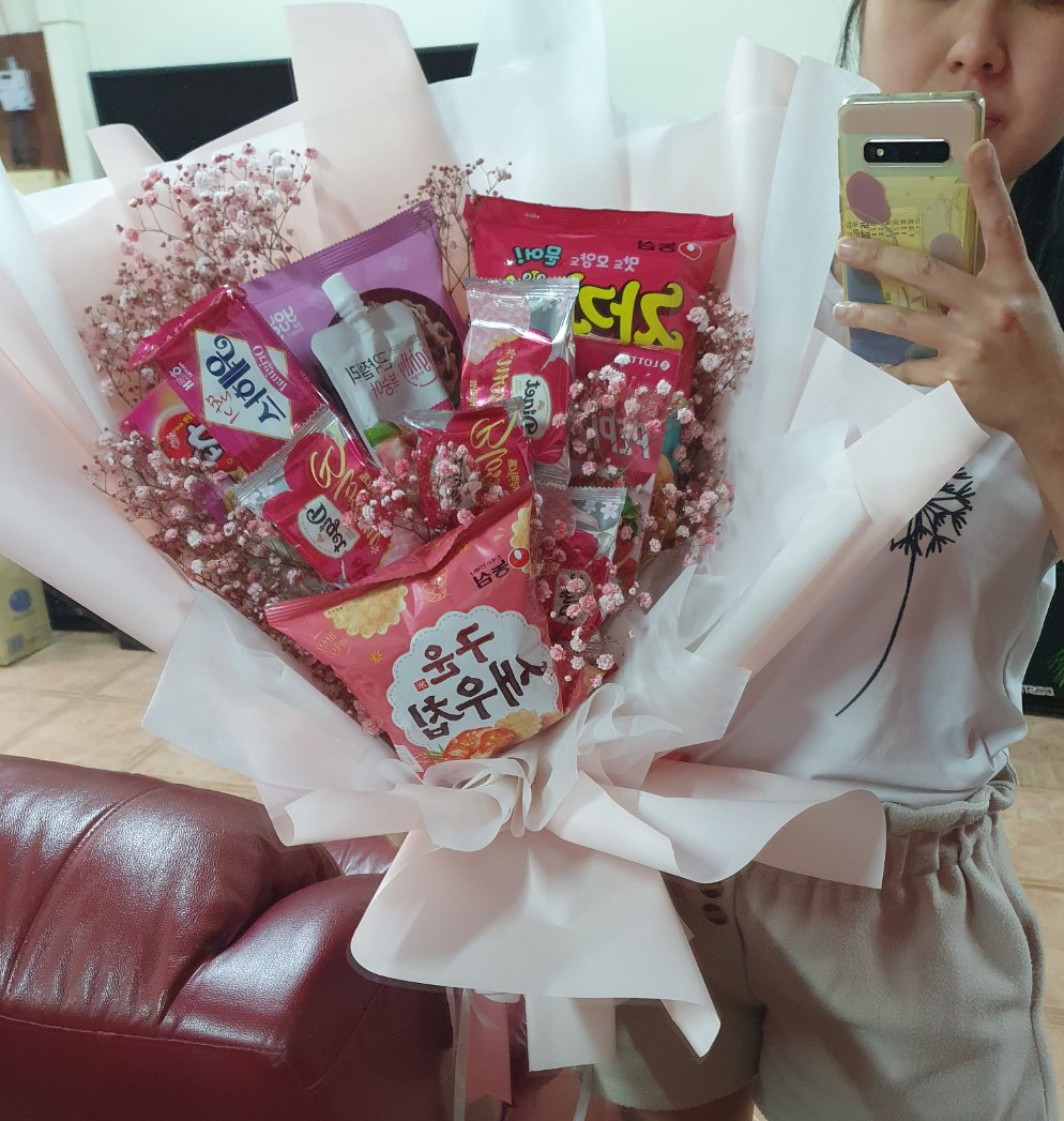XXXXL Korean Snack Bouquet