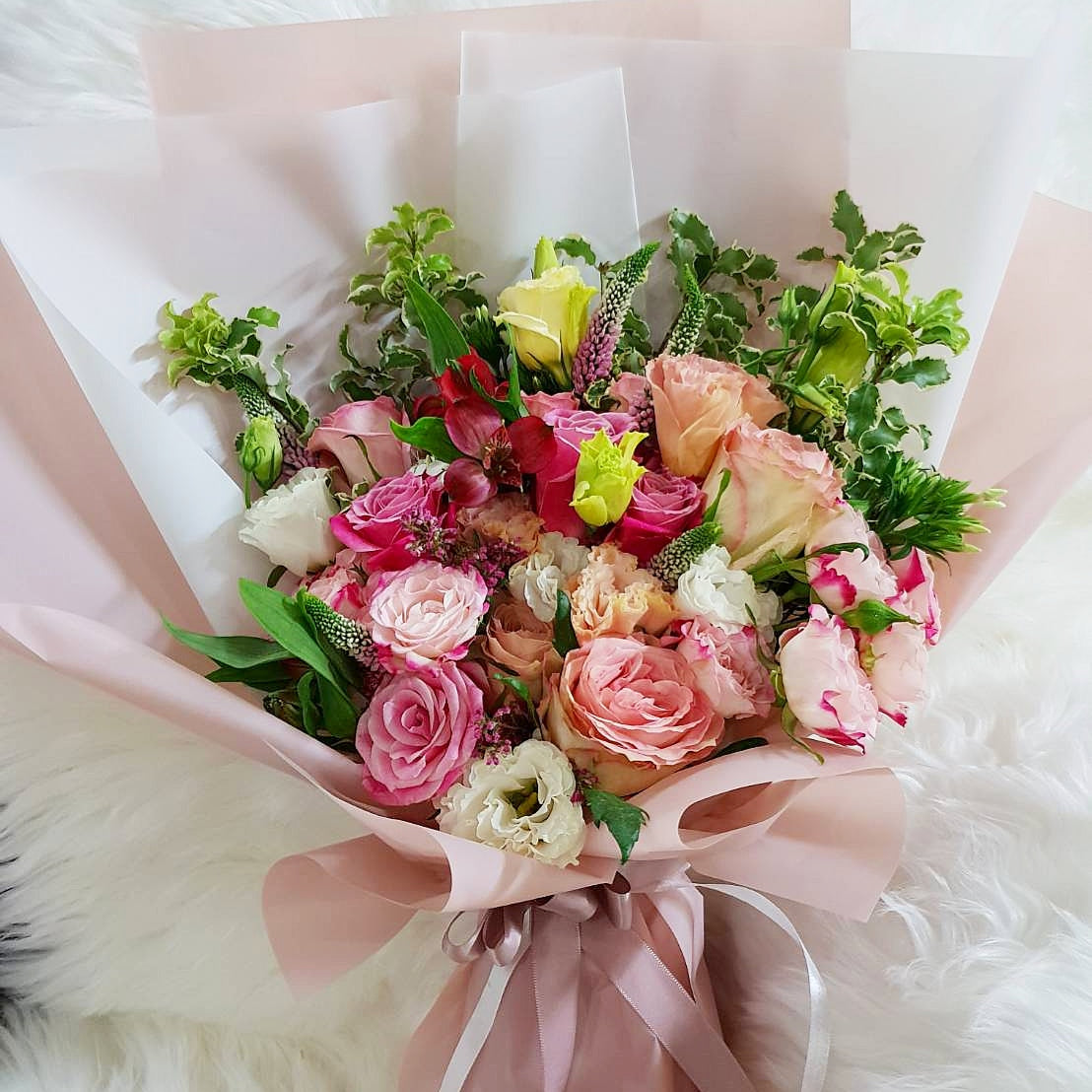 Pretty in Pink - Happy Florals