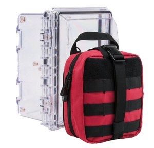 Multi-Person Initial Response Kit and Wall Mount Case