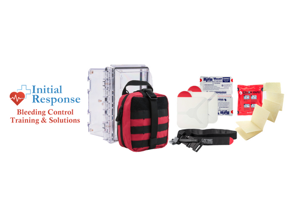 Initial Response Bleeding Control Kits as a reasonable emergency solution anyone can use