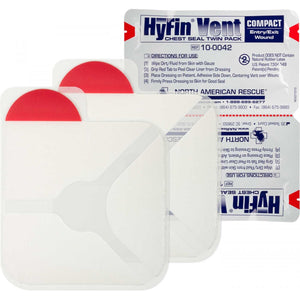 Hyfin Vent Compact Chest Seal Twin Pack - Initial Response