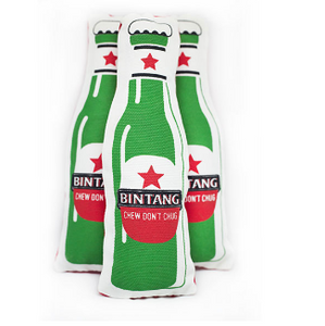 Bintang Beer Squeaky Toy