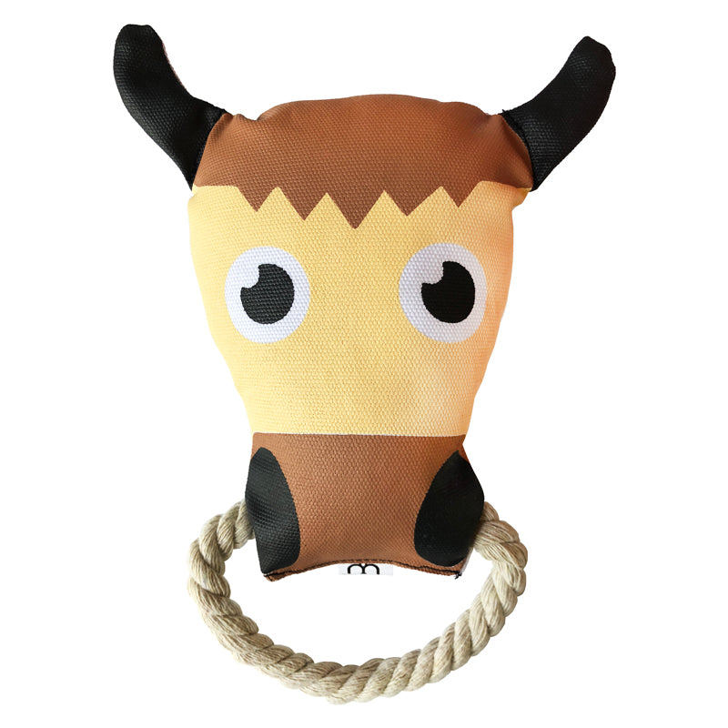 Ox Canvas Rope Toy