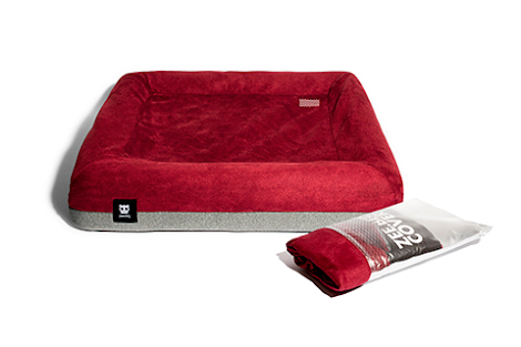 Zee Dog Burgundy Bed Cover
