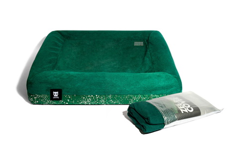 Zee Dog Green Bed Cover