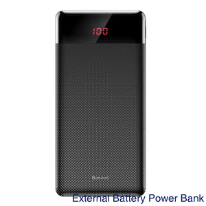 Baseus 10000mAh Power Bank Portable Charging Powerbank 10000 Slim Poverbank External Battery Pack Charger For Xiaomi Mi 9 iPhone