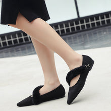 Fashion pointed flat women's shoes