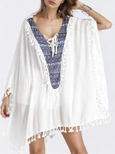 Bohemian Beach Vacation Sweaters And Fringed Tops
