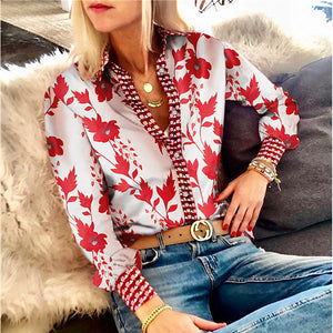 Fashion Printing   Long-Sleeved Tops