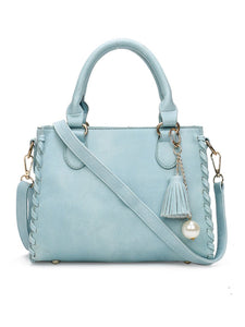 Tassel Decorative Pearl Shoulder Bag