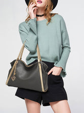 High Quality Color Block Big Capacity Shoulder Bag