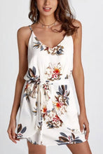 Elegant Sexy Floral Print Mini Dress
