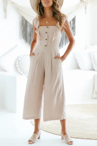 Sexy Fashion Stringy Selvedge Jumpsuit