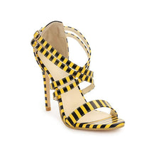 Fish Mouth Stiletto Heel Women's Sandals