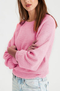 One Shoulder  Elastic Waist  Plain  Sweatshirts