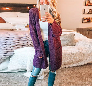 Fashion Warm Long-Sleeved Cardigan Jacket