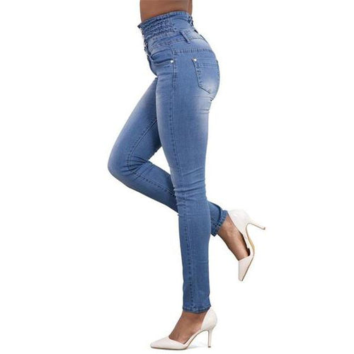 Sexy High-Waisted Stretch Jeans