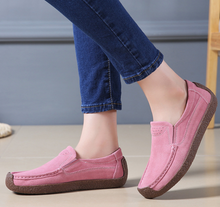 Pure Color Leisure Flat Shoes