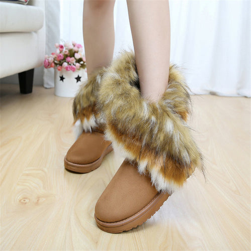 Fashion Plush Warm Boots