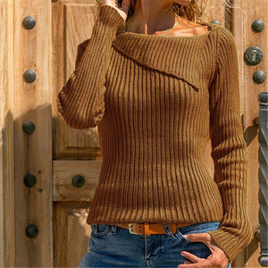 Autumn And Winter Long Sleeve Pullover Sweater
