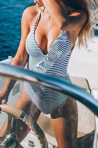 Sexy Stripes With A Body Suit