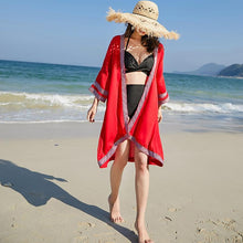 National Style Embroidery Sun Protection Shawl Sweater