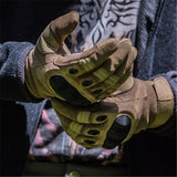 (LAST DAY Promotion-50% OFF)-Military Full Finger Tactical Gloves