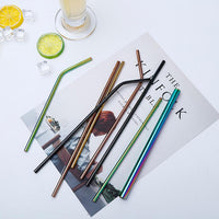 Reusable Stainless Steel Drinking Straw