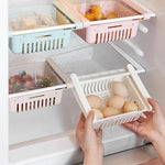 (LAST DAY 50% OFF) Kitchen Storage Refrigerator Partition Storage Rack