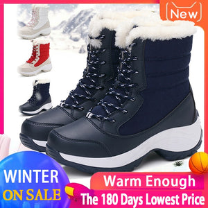 (Last day 70% OFF) Winter Snow boots Waterproof Non-slip
