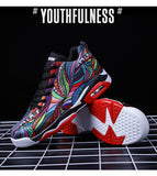 Breathable Basketball Shoes - Comfortable Outdoor Sports Sneakers