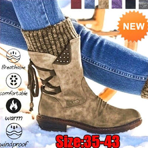 (Last day 70% OFF) New Fall & Winter Arch Support Mid-calf Boots [Holiday SALE]