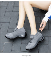 Retro Women Shoes - Platform Ladies Sneakers