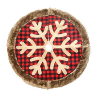 (Last day 50% OFF) Christmas Tree Skirt Quilt Pattern - Red Buffalo Plaid [New Arrival SALE]