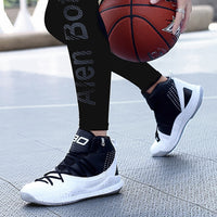 High Quality Basketball Shoes - High Top Anti-slip Outdoor Sports Sneakers