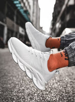 FASHION LACE-UP MEN CASUAL SHOES – SPORT SNEAKERS