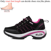 2020 WOMAN OUTDOOR HIKING SHOES – WATERPROOF LEATHER SNEAKERS