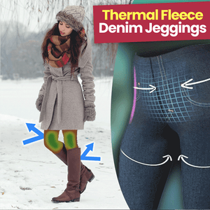 Winter Warm Fleece Lined Jeggings