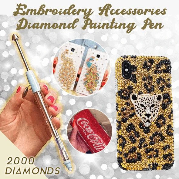 Embroidery Accessories Diamond Painting Tools [Sale 50% Off - For The First 199 Only]