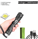 [70% DISCOUNT] Rechargeable Powerful Tactical Led Flashlight Camping