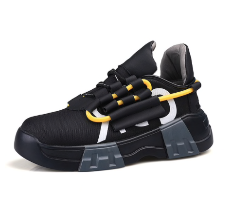 Lace-up Breathable Sporty Sneakers