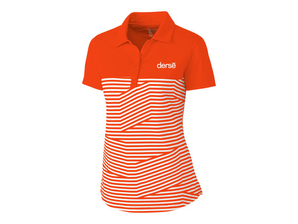 Ladies Spree Orange Polo